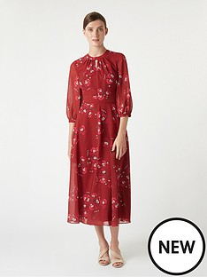 hobbs-hobbs-samantha-orchid-tea-dress-burgundy-cerise
