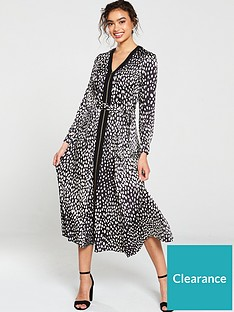 karen-millen-polkadot-midi-dress