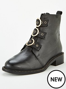 carvela-thought-ball-rand-three-middle-buckle-straps-boot-black