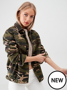 v-by-very-dark-camouflage-print-utility-jacket