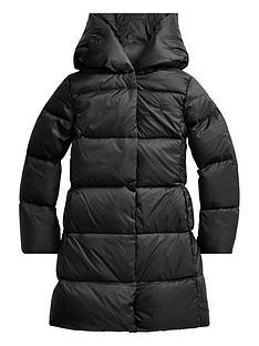 ralph-lauren-girls-long-down-padded-coat-black