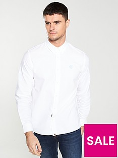 pretty-green-oxford-shirt-white