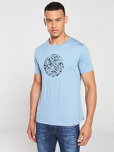 pretty-green-barley-applique-t-shirt-blue