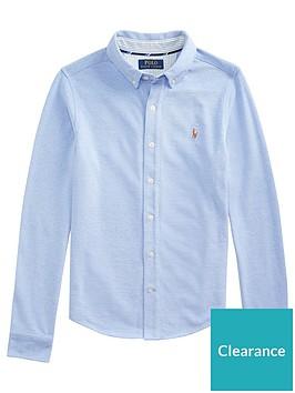 ralph-lauren-boys-long-sleeve-oxford-mesh-shirt-blue