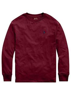 ralph-lauren-boys-classic-long-sleeve-t-shirt-dark-red