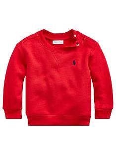 ralph-lauren-baby-boys-classic-crew-sweat-top-red