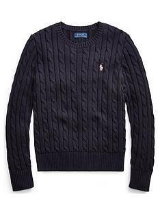 ralph-lauren-girls-classic-cable-knit-jumper-navy