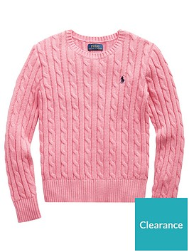 ralph-lauren-girls-classic-cable-knit-jumper-pink