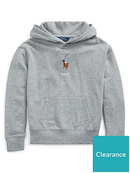 ralph-lauren-girls-big-pony-pocket-front-hoodie-grey