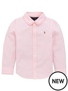 ralph-lauren-girls-classic-long-sleeve-oxford-shirt-pink