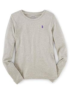 ralph-lauren-girls-classic-long-sleeve-t-shirt-grey
