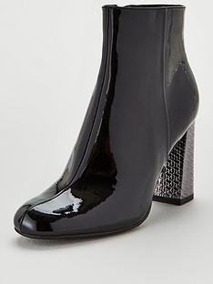 tommy-hilfiger-patent-high-heel-boots-black