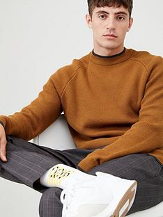 v-by-very-ribbed-crew-neck-jumper-mustard