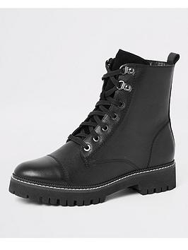 river-island-river-island-leather-lace-up-biker-boot-black