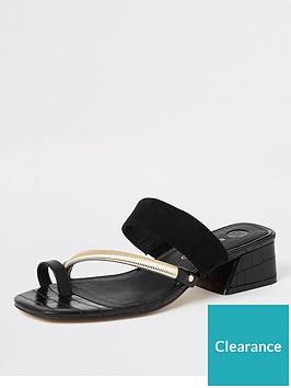 river-island-river-island-toe-ring-low-heel-sandals-black