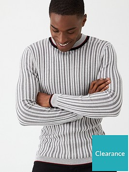 very-man-ribbed-tipped-crew-jumper-grey