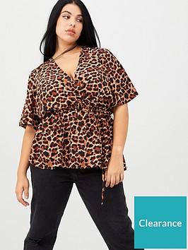 v-by-very-curve-leopard-kimono-sleeve-top-print