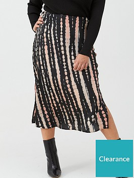 v-by-very-curve-satin-tie-dye-skirt-print