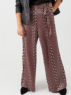 v-by-very-curve-print-satin-trouser-geo-print