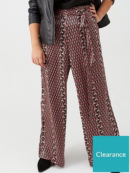 v-by-very-curve-print-satin-trouser-geo-print