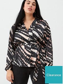 v-by-very-curve-satin-tie-dye-blouse-printnbsp