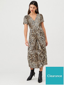 v-by-very-leopard-ruffle-front-midi-dress-leopard