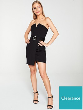 river-island-river-island-strapless-belted-mini-dress-black