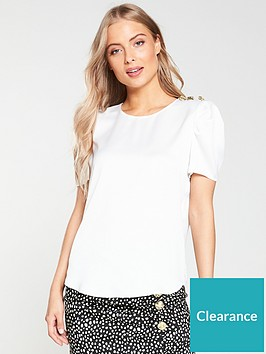 river-island-river-island-shoulder-detail-woven-top-white