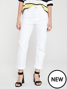 river-island-mom-jeans-white