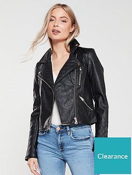 river-island-river-island-faux-leather-biker-jacket-black