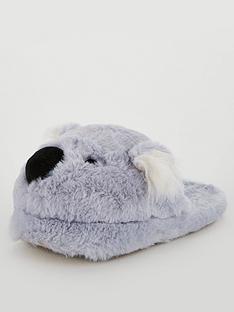 boux-avenue-koala-mule-slippers-grey-mix