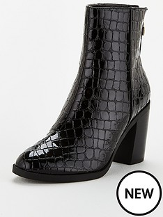 office-arden-patent-croc-boot-ankle-boots-black
