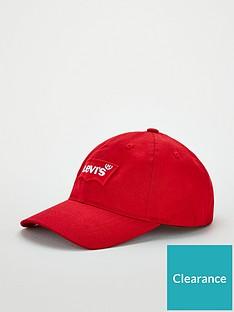 levis-big-batwing-flexfit-cap-red