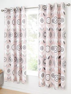 catherine-lansfield-annika-retro-bloom-eyelet-curtainsnbsp-blush-pink