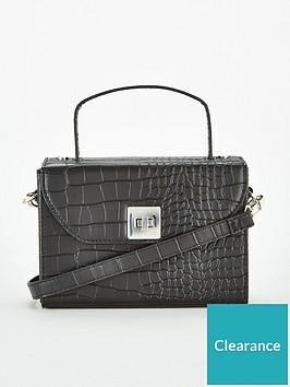 v-by-very-jeanie-boxy-top-handle-cross-body-bag-black