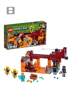lego-minecraft-21154-the-blaze-bridge-with-alex-and-skeleton-figures
