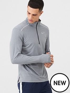 nike-half-zip-running-top-grey