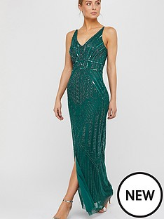 monsoon-eva-embellished-maxi-dress-green