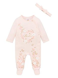 baker-by-ted-baker-baby-girls-sleepsuit-and-headband-pink