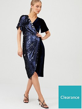 v-by-very-sequin-and-velvet-wrap-dress-midnight