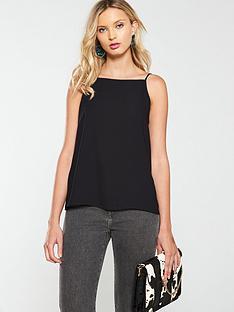 warehouse-core-cami-top-black