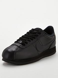 nike-cortez-basic-leather-black