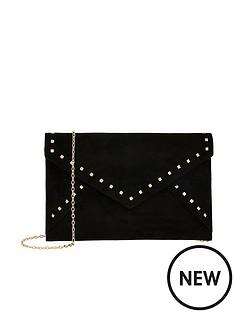 accessorize-petra-studded-envelope-clutch-bag-black
