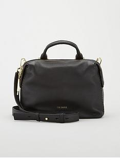 ted-baker-emiilyy-chain-zip-small-tote-black