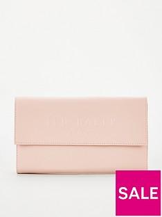 ted-baker-giliani-deboss-branded-travel-wallet-dusky-pink