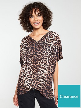 v-by-very-animal-longline-knotted-top-leopard