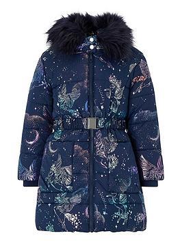 monsoon-girls-luna-unicorn-padded-hooded-coat-navy