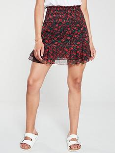 v-by-very-mesh-mini-frill-co-ord-skirt