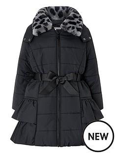 monsoon-girls-lola-padded-hooded-coat-with-detachable-collarnbsp--black