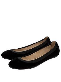 accessorize-elasticated-micro-ballerina-pumps-black